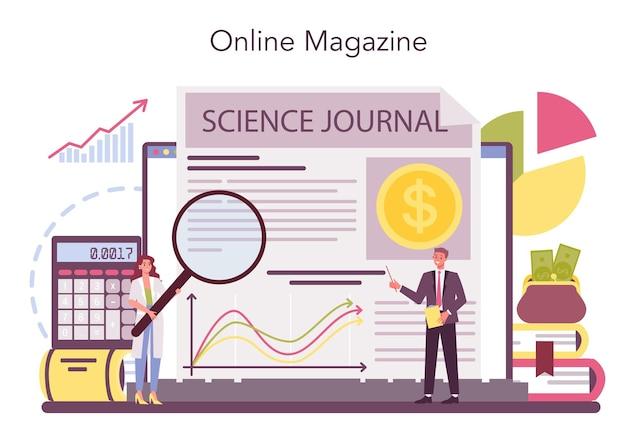 Serviço ou plataforma online do economist