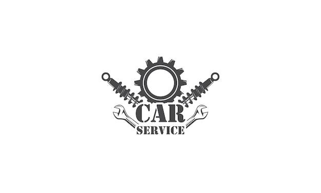 Serviços de design de logotipo mecânico reparo de engenharia