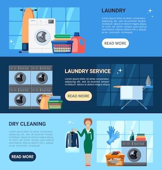 Serviços de lavanderia e lavagem a seco