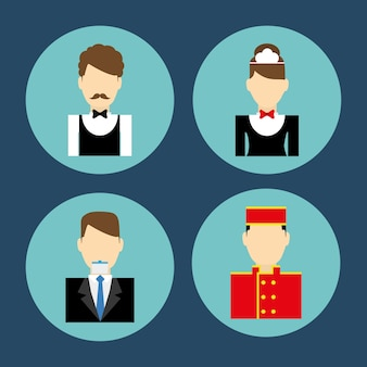 Serviços do hotel e viagens