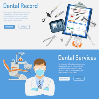Serviços odontológicos horizontais