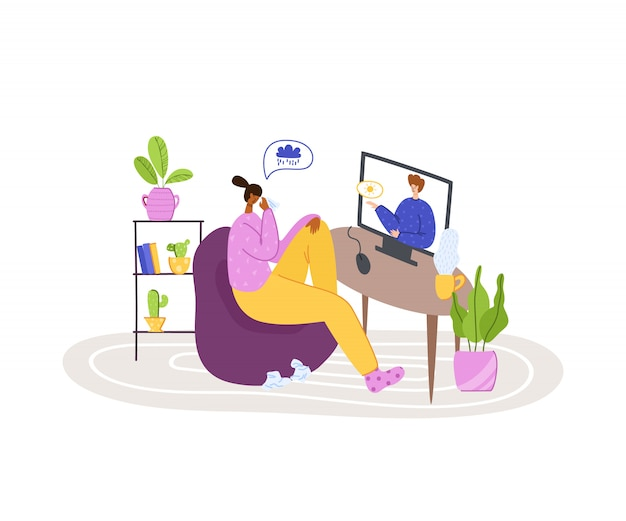 Serviços on-line psicológicos