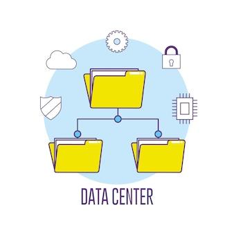 Servidor de informações de conexão do data center