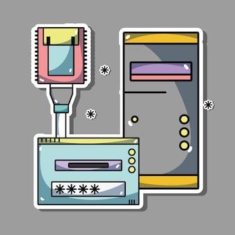 Servidor de informações do centro de dados do sistema