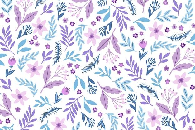 Servindo floral impressão fundo