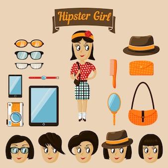 Set menina hipster