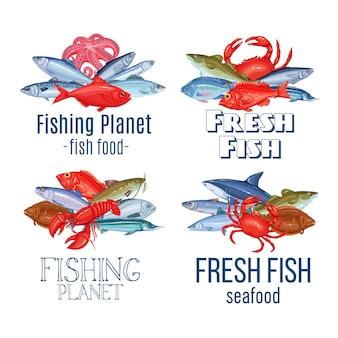 Set s fish.