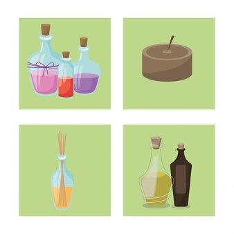 Set tratamento de spa