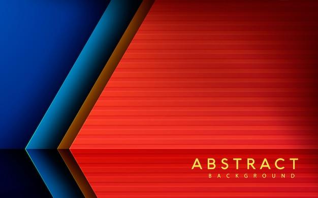 Seta abstrata dimensão textura de fundo