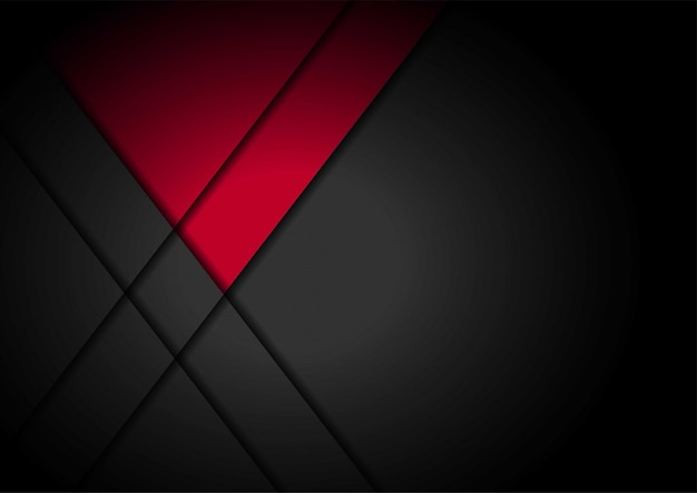 Seta de luz vermelha preta com fundo de malha ondulada
