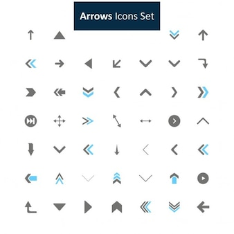 Seta icon set