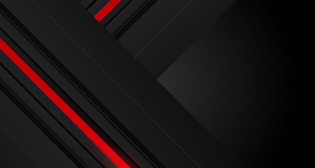 Seta vermelha abstrata no design de malha de círculo cinza escuro