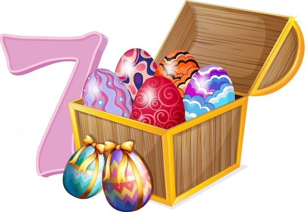 Sete ovos de páscoa