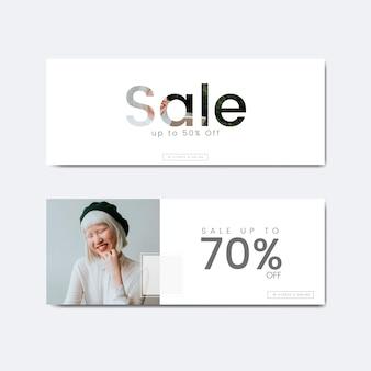 Setenta por cento de desconto