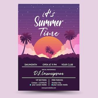 Seu evento de dj de verão