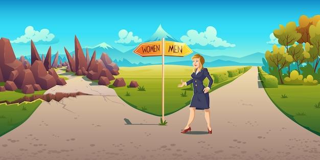 Sexismo e discriminação no crescimento da carreira