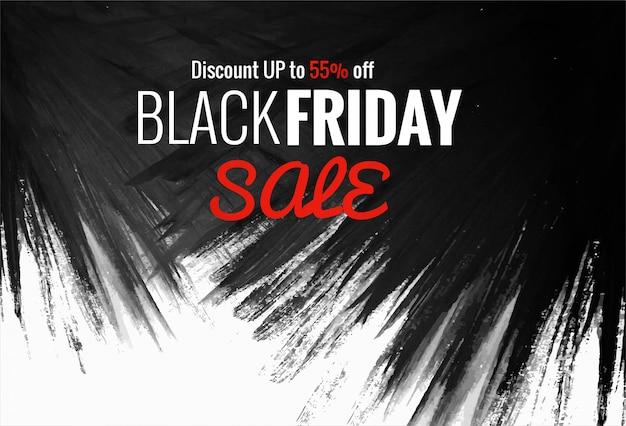 Sexta-feira negra bonita texto criativo de venda de compras