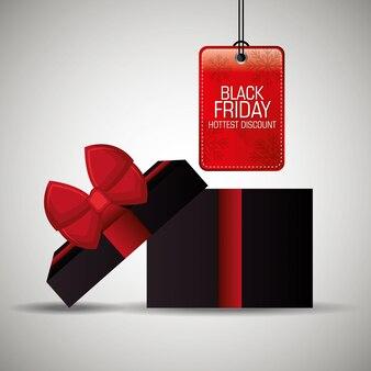 Sexta-feira negra compras temporada