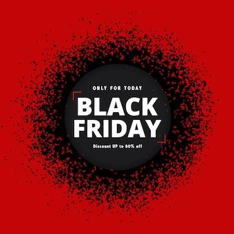 Sexta-feira negra em design plano Vetor grátis