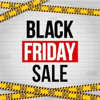 Sexta-feira negra oferta especial venda banner fundo.