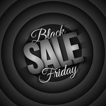 Sexta-feira negra venda fundo retrô
