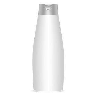 Shampoo bottle oval package