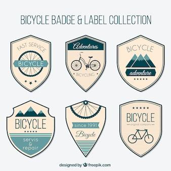 Shieds bicicleta do vintage ajustados
