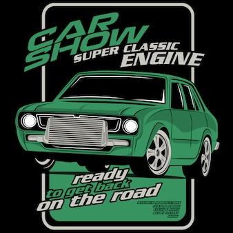 Show de carro, super motor