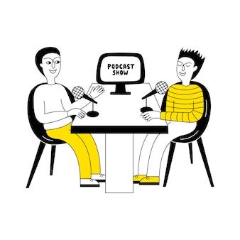 Show de podcast.