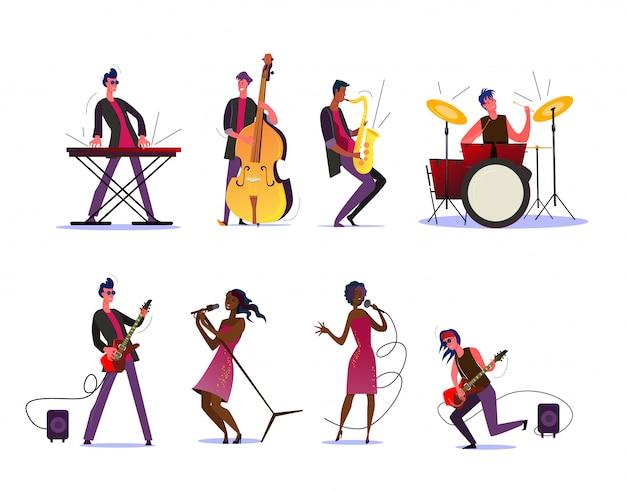 Show musical ou conjunto de concertos
