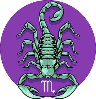 Signo de zodíaco de escorpião