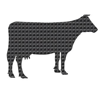 Silhueta de vaca