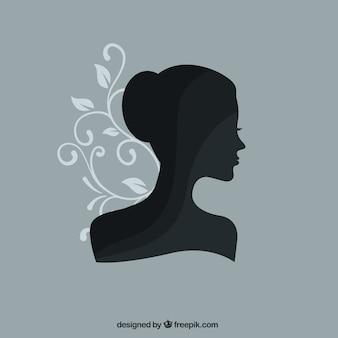 Silhueta feminina