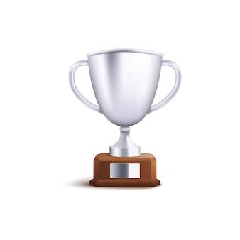 Silver thophy para segundo lugar