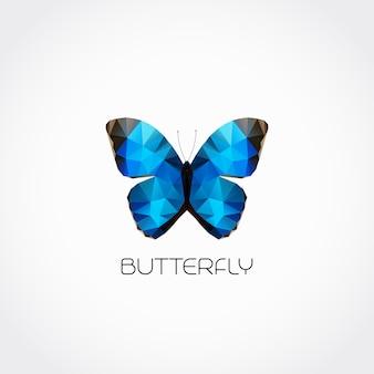 Símbolo abstrato borboleta