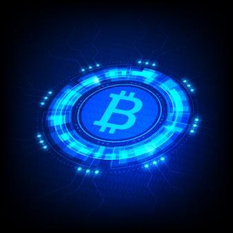 Símbolo bitcoin