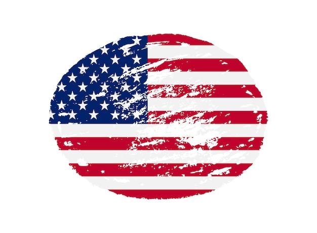 Símbolo da bandeira dos estados unidos