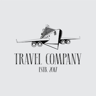 Símbolo da empresa de viagens