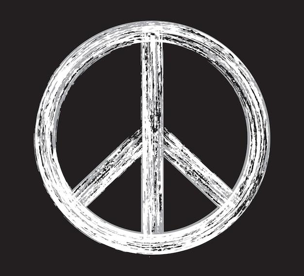 Símbolo da paz do grunge