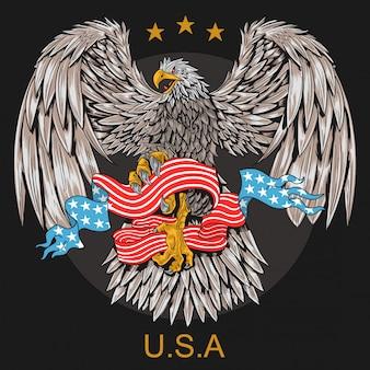 Símbolo de águia dos eua