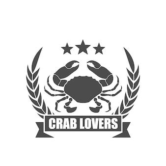 Símbolo de amantes de caranguejo