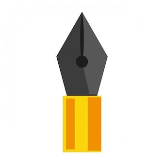 Símbolo de caneta de vetor
