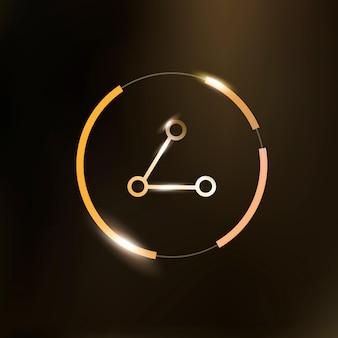 Símbolo de conexão do ícone de rede