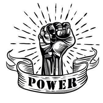 Símbolo de protesto proletário