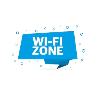 Símbolo de wifi de vetor, ícone de wifi grátis em branco
