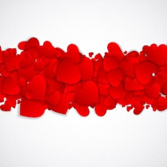 Símbolo do coração dia dos namorados. amor e sentimentos fundo desig
