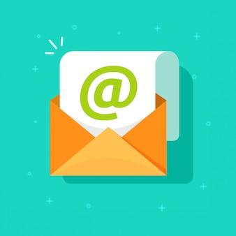 Símbolo do ícone de correio de e-mail