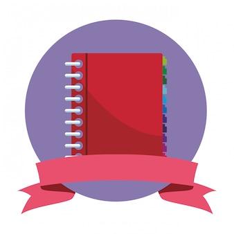 Símbolo do livro de endereços