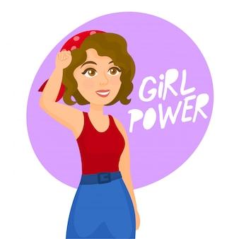 Símbolo do poder feminino e dos direitos da mulher