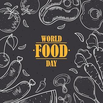 Símbolos do dia mundial da comida
